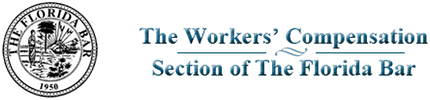 Logo Recognizing Johnson & Gilbert, P. A.'s affiliation with the Workers' Compensation Section of the Florida Bar